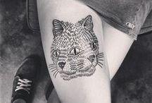 tattoos / inked skin