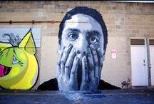 Murales and Spray art