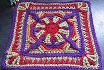 Crocheting Granny Squares, Hexes, Triangles / by Beth A