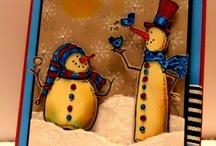 Kartenideen Weihnachten