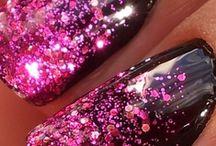 Glitter nagels / Leuke tips voor nagels