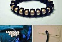 Biżuteria ręcznie wykonana / Z dostępnych materiałów, proste w wykonaniu