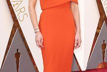 """Orange and ocher collection / Red carpets and Royal appearances (for other orange and ocher dresses see also """"Colorful collection"""")"""