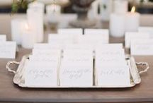 Day-of Wedding Stationery