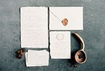 Written Word Calligraphy Wedding Invitations