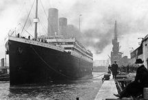 The Titanic / RMS Titanic was a British passenger liner that sank in the North Atlantic Ocean in the early morning of 15 April 1912 after colliding with an iceberg during her maiden voyage from Southampton, UK to New York City, US. The sinking of Titanic caused the deaths of more than 1,500 people in one of the deadliest peacetime maritime disasters in modern history.  / by hillkat
