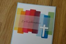 Kartenideen Kommunion / Konfirmation / Firmung