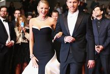 Famous stylish couples / Red carpets and everyday life
