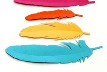 Inspiration | Paper Feathers