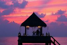 Romantic places / Europe, Tropical Islands, Deserts, South America