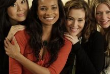 """Mistresses / """"Mistresses"""" premiered on June 2013. Alyssa Milano (born: 1972), Yun-jin Kim (born: 1973), Rochelle Aytes (born: 1976) and Jes Macallan (born: 1982) are the main characters in the roles of Savannah, Karen, April and Joss"""