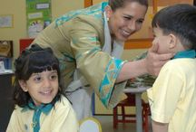 Royals: Princess Haya of Jordan / Haya bint Hussein (born 3 May 1974 in Amman, Jordan) is the junior wife of Sheikh Mohammed bin Rashid Al Maktoum, Emir of Dubai. They married on the 10th April 2004 and have two children: Sheikha Al Jalila (born: 2007) and Sheikh Zayed (born: 2012). She is an accomplished equestrian and President of FEI (International Federation for Equestrian Sports).