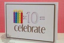 Karten zu runden Geburtstagen