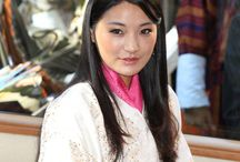 Royals: Queen Jetsun Pema of Bhutan / Jetsun Pema Wangchuck (born: 4 June 1990 in Thimphu, Bhutan) is the Queen Consort of Bhutan as wife of King Jigme Khesar Namgyel Wangchuck. They married on 13 October 2011 and during the ceremony the King proclaimed her Queen. They have a son: Crown Prince Jigme Namgyel Wangchuck (born: 2016). She is an advocate of environmental issues and is considered a fashion icon due to the traditional clothing she wears.