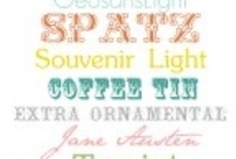 Fonts / Printables / by Tracy Cruz