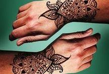 Henna / tattoos henna / by Megan Rhoby Dale