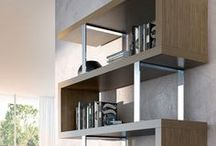 Modloft Home Office / Things we're designing for your MODLOFT contemporary home office, from desks, chairs, sideboards, bookcases, and shelving.