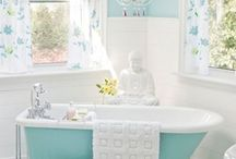 bathrooms / Sinks, tubs, showers, toilets, design, color, the view. / by Tammy McGhee
