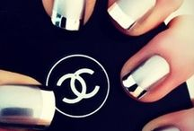 Nails  / Fingers and toes,Nail designs, sleek, rich, cute, bright, polish colors I favor / by Tammy McGhee