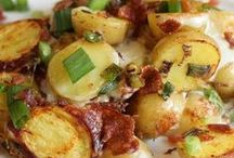 Potatoes of all kinds / Potatoes are a staple in my diet. Love to find new ways to serve potatoes which are a perfect accompaniment to most foods.
