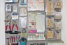 Craft Room / My biggest fear is that when I die my husband will sell all my craft supplies for what I told him they cost.