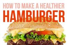How to Make a Healthier Burger / May is National Hamburger Month, celebrating a cornerstone of American cuisine. Trouble is, burgers aren't always a healthy food option, so it helps to know how to make a healthier burger. Tweaking the ingredients can make all the difference.