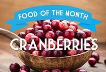 Food of the Month / Each month we feature nutritional information and recipes for the best foods at are in season and readily available to pick up at the store or a local farmers market.