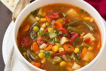 Soups / by Aubrey Allen