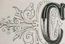 penmanships / by Sally Caulfield