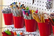 Organize Me / Fun and Interesting ways to organize our homes, offices and craft rooms...