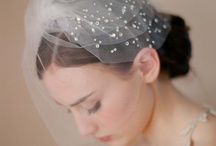 bridal hair and veils