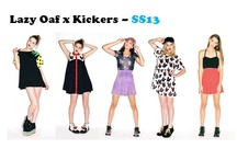 Lazy Oaf x Kickers!  / by BANK Fashion