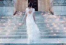 BLUSHING BRIDE / Wedding Dresses / by Cheryl Diodene