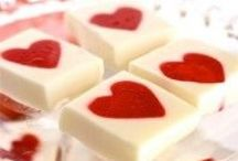 Healthy Valentine's Recipes / Collection of Healthy Valentines Recipes and Treats.
