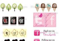 Social Media Icons / Social Media Icons for your sites...