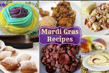 Mardi Gras Food & Fun / All the beautiful food and colors of Mardi Gras.  #MardiGras