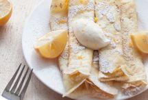 FOOD: Crêpes & Pancakes / All Sorts of Pancakes
