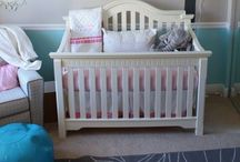 Baby - Nursery - Girl / Baby Girl Pink Purple Yellow Green Blue Gray Brown Princess Nursery / by Casey Norris