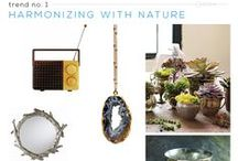 Trend: Harmonizing w/ Nature / Lifestyle Trend Report 2015-2016. The new Harmonizing with Nature movement recognizes the instinctual bond between humans and nature.