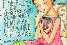 Bible journaling / by Revis Sepanski