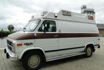 TRAVEL: Ugly Joe; Our Shabby Van / Our Chevy Van & adventures