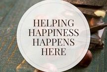 Helping Happiness Happens Here / Helping Happiness Happens Here |  A one-stop shop for the freshest & highest quality organic chocolate for the chocolate lover, the chocolate maker, chef & baker | SantaBarbaraChocolate.com