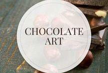 Chocolate Art / Chocolate Art | A one-stop shop for the freshest & highest quality organic chocolate for the chocolate lover, the chocolate maker, chef & baker | SantaBarbaraChocolate.com