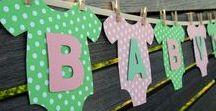 Baby shower / Ideen rund um die Baby Shower - Spiele, Deko, Snacks, Einladungen, Geschenke usw