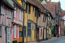 English Towns & villages / by Julia M H