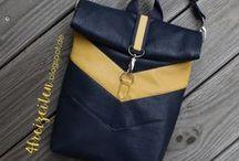 Von meinem Blog - genähte Taschen / Taschen, die ich selbst genäht habe