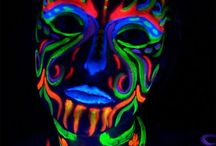 Neon UV Make Up
