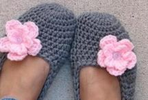 Háčkovanie: papučky a ponožky