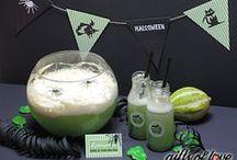 Halloween / Hier findest du tolle Dekoideen und Rezepte für deine Halloween-Party!