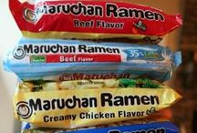 Life On Ramen / Hey - what can we say - it's cheap & filling!